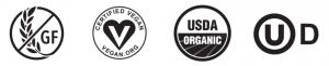 Food Accreditation Logos