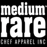 chefs apparel medium rare