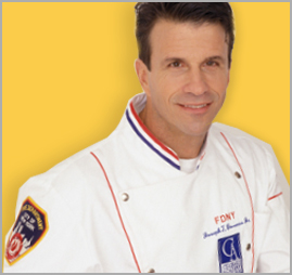 headshot image of firefighter chef joseph bonano