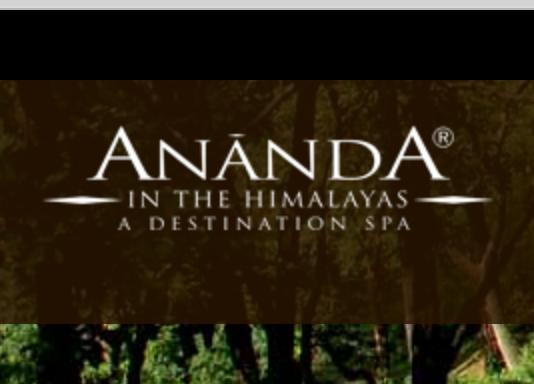Ananda Wellness resort and spa himalayas