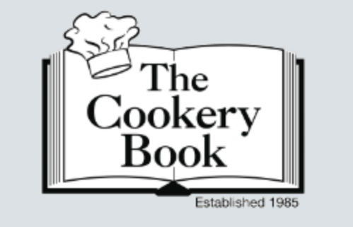 cook book opened to page