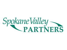 logo for spokane valley parnters