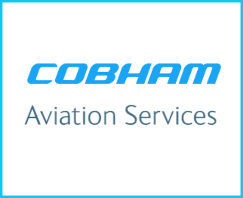 The words Cobham aviation Services