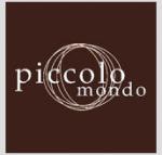 Picolo Mondo Logo in Brown Background