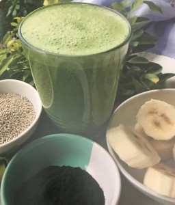 Glass Green Smoothie
