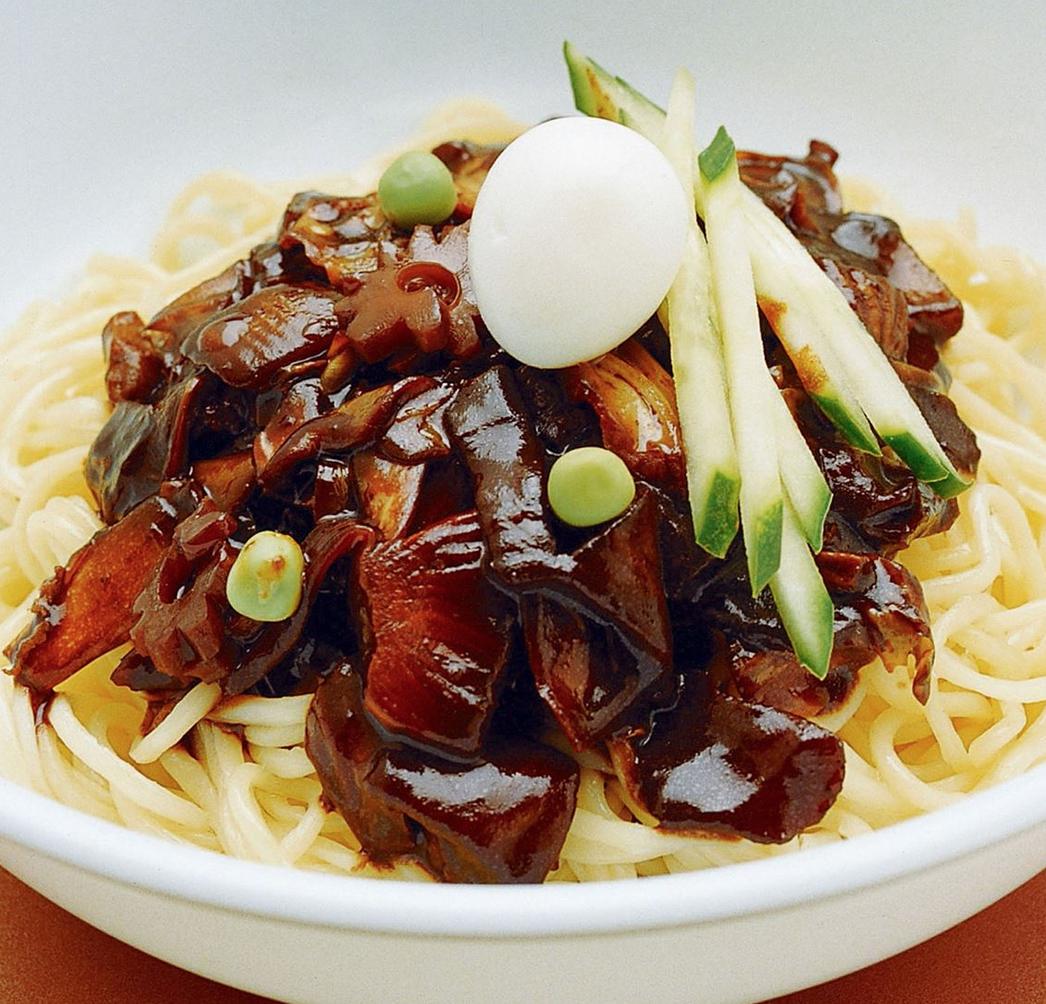 Korean Noodle Dish