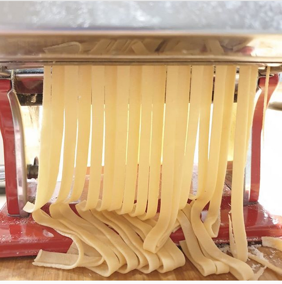 making fresh pasta
