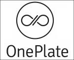 one plate adjusted logo